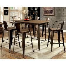 progressive furniture winston 7 piece counter height dining table set. furniture of america tripton industrial 7-piece counter height dining set progressive winston 7 piece table n