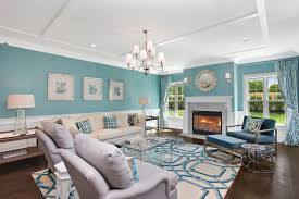 model living rooms: living room of the a model at bishops pond southampton village