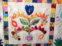7 best Mini quilts images on Pinterest | Beautiful, Cabbages and ... & Busy Quilting: Kim McLean's Flower Pots Adamdwight.com