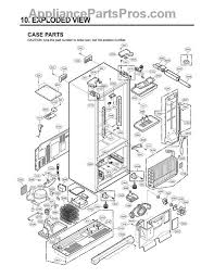 kenmore fridge parts. part diagram kenmore fridge parts e