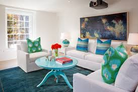 Open Living Room Decorating Remodelaholic How To Open Up A Small Congested Space