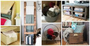 10 stupendous blanket storage ideas for your home