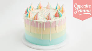 How To Make A Unicorn Cake Bakery Secret Cupcake Jemma Youtube