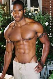Sexy gay black male