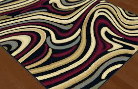 mohawk home new wave rainbow area rug designs