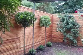 privacy slim cedar fence panels
