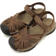 keen keen women s sandal leather women rose rose leather dark earth brindle 1012673 ss16