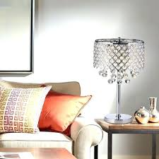 chandelier bedside table lamp chandelier table lamp chrome round crystal chandelier bedroom nightstand table lamp 3