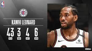 """NBA.com/Stats on Twitter: """"Kawhi ..."""
