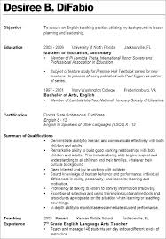 Teaching Resume Templates Beauteous Teacher Resume Template Free Word Educator Example Teaching Student