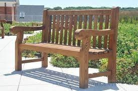5 ft hyde park teak bench 60 in teak