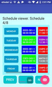 schedule creater class schedule creator pro apk download free productivity app