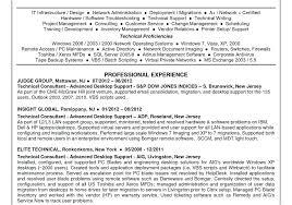 computer support technician resume desktop support technician resume plus radio info