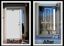 how to paint a front doorkeeping up with the kitchen mom how to paint the front door inside
