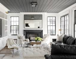 House Tour :: Black \u0026 White Gets Cozy in this Family Home - coco ...