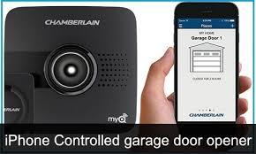 iphone garage door openerBest iPhone Controlled Garage Door Openers 2017 Open Car Parking