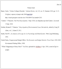 Edit Your Works Cited Page In Mla Format For You By Kyliemfran