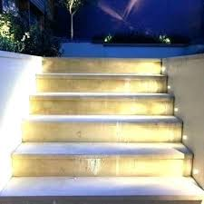 outdoor stairs lighting. Patio Step Lights Outdoor Stair Lighting Image Of Led  Picture Deck Stairs