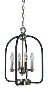 framburg 4934 ab mblack 4 light antique brass matte black boulevard chandelier
