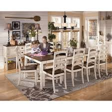 country cottage style furniture. Catchy Country Style Dining Room Sets With Cottage Set Hillside White 5 Pc Furniture A