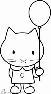 Ballon Kleurplaat