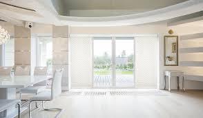 Sliding door blinds Exterior Gbudgetblindsslidingdoorblueverticalblinds Budget Blinds Sliding Door Blinds Window Treatments Budget Blinds