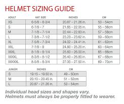 Motorcycle Helmet Sizing Guide Tripodmarket Com