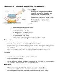 conduction convection radiation worksheet. definitions of conduction, convection, and radiation worksheet conduction convection e
