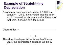 Straight Line Method For Depreciation Chapter 8 4 Adjusting For Depreciation Ppt Video Online Download