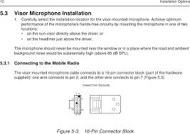 99ft3046 cm200 vhf 45 watt mobile radio user manual 2966c25 o cvr page 20 of 99ft3046 cm200 vhf 45 watt mobile radio user manual 2966c25 o cvr