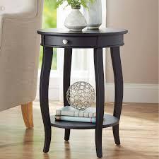 graceful black end tables furniture living room luxury corner