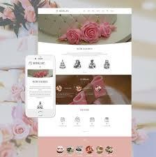 Wedding Cake Design Software Wedding Cake Responsive Moto Cms 3 Template 59138