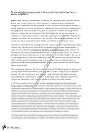 family law essay year hsc legal studies thinkswap family law essay