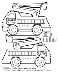 Scroll down to download all the firetruck coloring pages as a pdf to print and color. Cars Trucks And Other Vehicles Free Coloring Pages Crayola Com