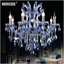blue crystal chandeliers plus 8 lights blue crystal chandelier light fixture maria candle re lamp blue crystal chandeliers