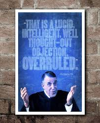 My Cousin Vinny Quotes Custom My Cousin Vinny OVERRULED Quote Poster Etsy