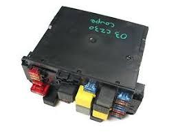 766 mercedes w203 w209 clk320 clk500 front left sam module fuse image is loading 766 mercedes w203 w209 clk320 clk500 front left