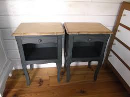Tables De Chevet Patin Es L Ancienne D Occasion Vintage Design