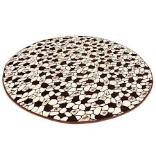 Coral Bathroom Rugs 100x100cm Coral Velvet Bathroom Absorbent Carpet Anti Slip