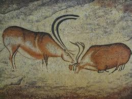 two reindeer cro magnon painting font de gaume cave les eyzies de tayac sireuil fr bce that s quite advanced art