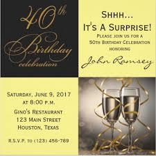 Birthday Celebration Invitation Template