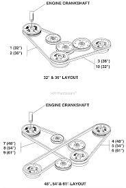 bunton bobcat ryan all side discharge parts diagrams