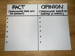 Fact Vs Opinion Anchor Chart Sea Life Not Seafood Lessons On A Fishs Life Peta