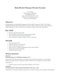 Bank Branch Manager Resume Classy Bank Branch Manager Resume Banking Manager Resume Bank Assistant