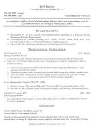 telecom resume samples resume cv cover letter - Sample Telecommunications  Consultant Resume