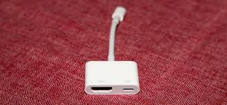 adaptador apple av digital hdmi lightning ipad iphone