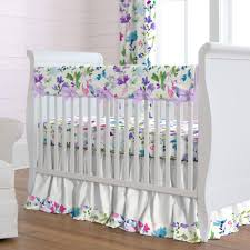 wildflower garden crib bedding carousel designs