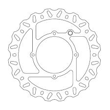 Front brake disc moto master
