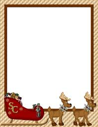 Holiday Borders For Word Documents Free Word Document Christmas Border Free Fun For Christmas Halloween