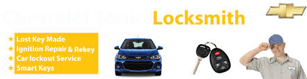Chevrolet Sonic Car Key Replacement 24/7 - Okey DoKey Locksmith